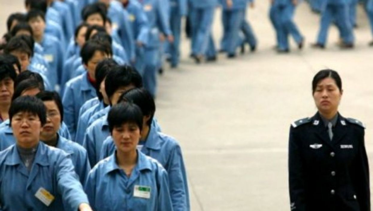 """There are 350 """"reeducation through labor"""" camps in China"""