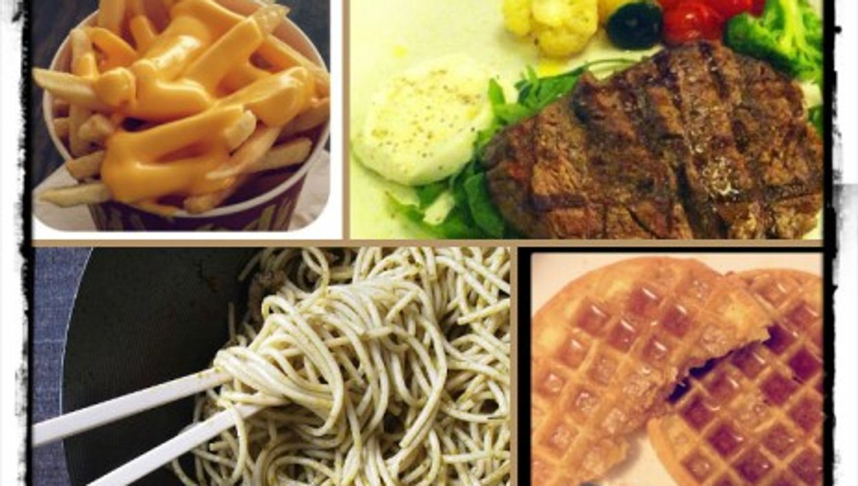 There are currently 47,611,563 pictures under the #food hashtag...