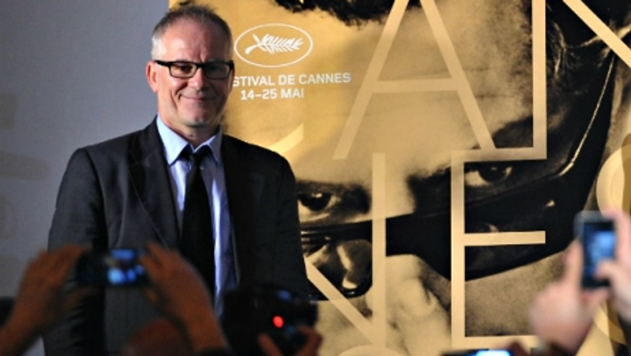 Thierry Fremaux is the man to know at Cannes