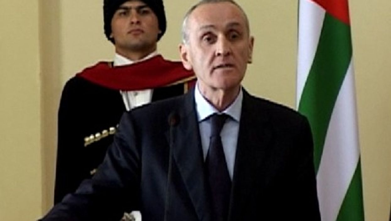 This is the fifth assassination attempt against Abkhazian President Alexander Ankvab (YouTube)