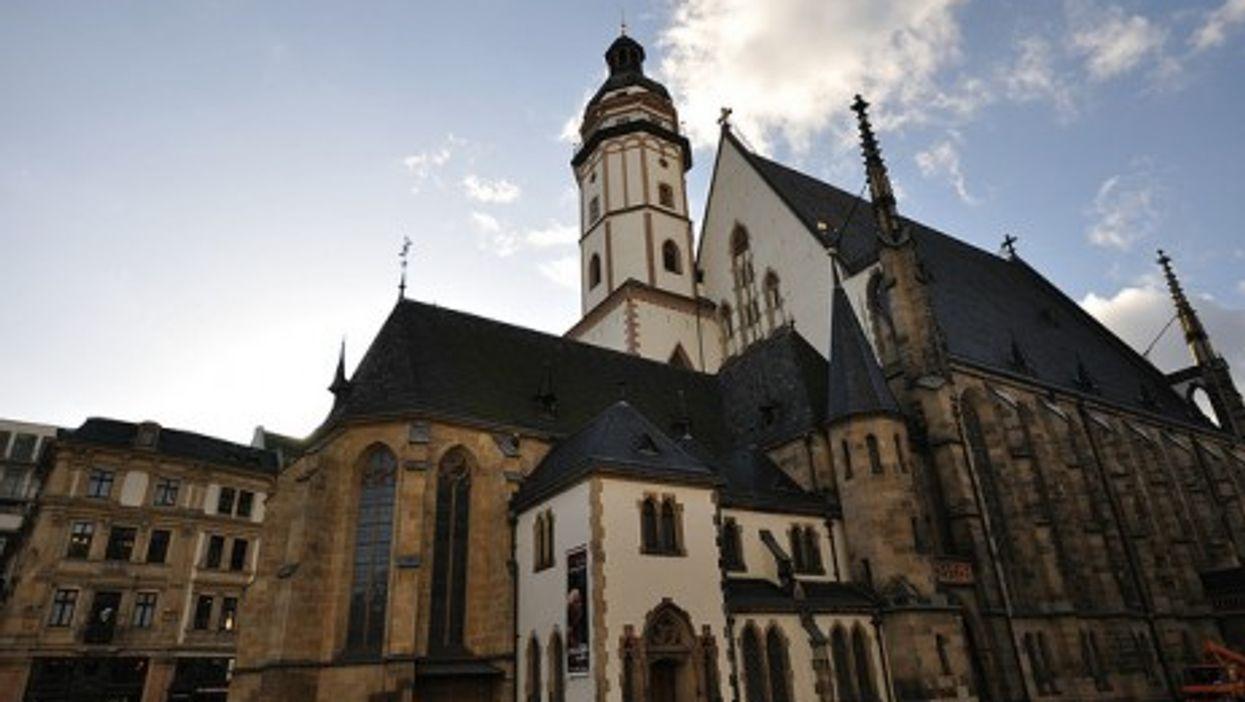 Thomaskirsche in Leipzig, Germany (vxla)