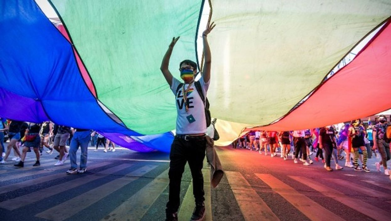 Thousands in participated in the LGBTQ+ Pride March in Monterrey, Mexico