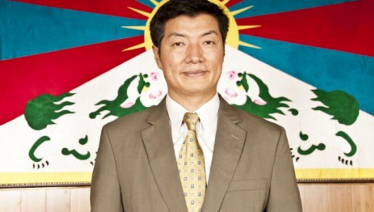 Tibetan Prime Minister In Exile Lobsang Sangay