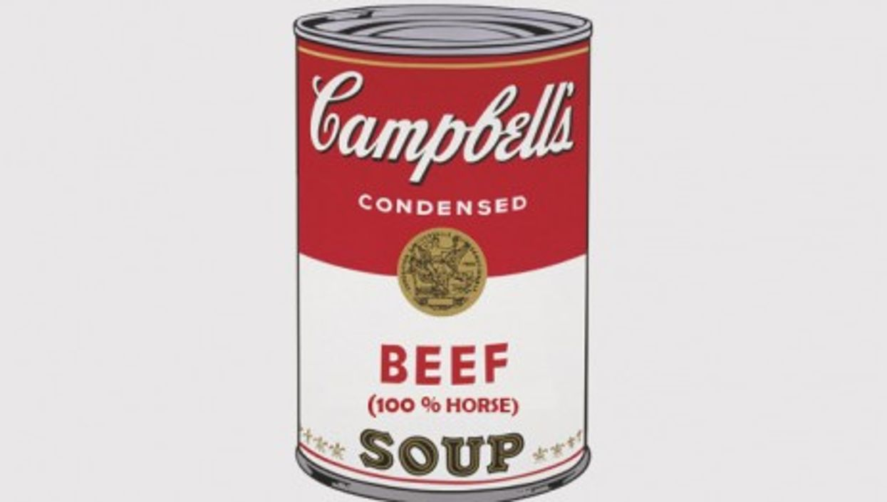"""Time to update Andy Warhol's """"Campbell's Soup Cans""""?"""