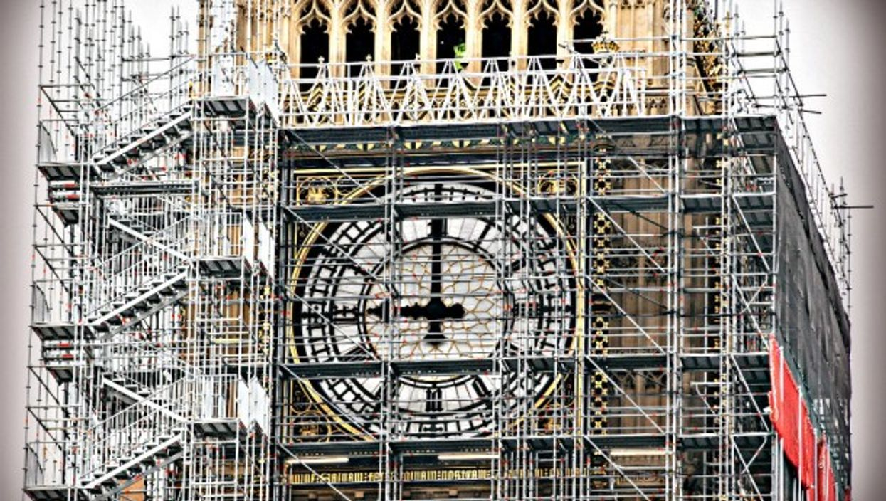 Times change? A Big Ben facelift began in 2017
