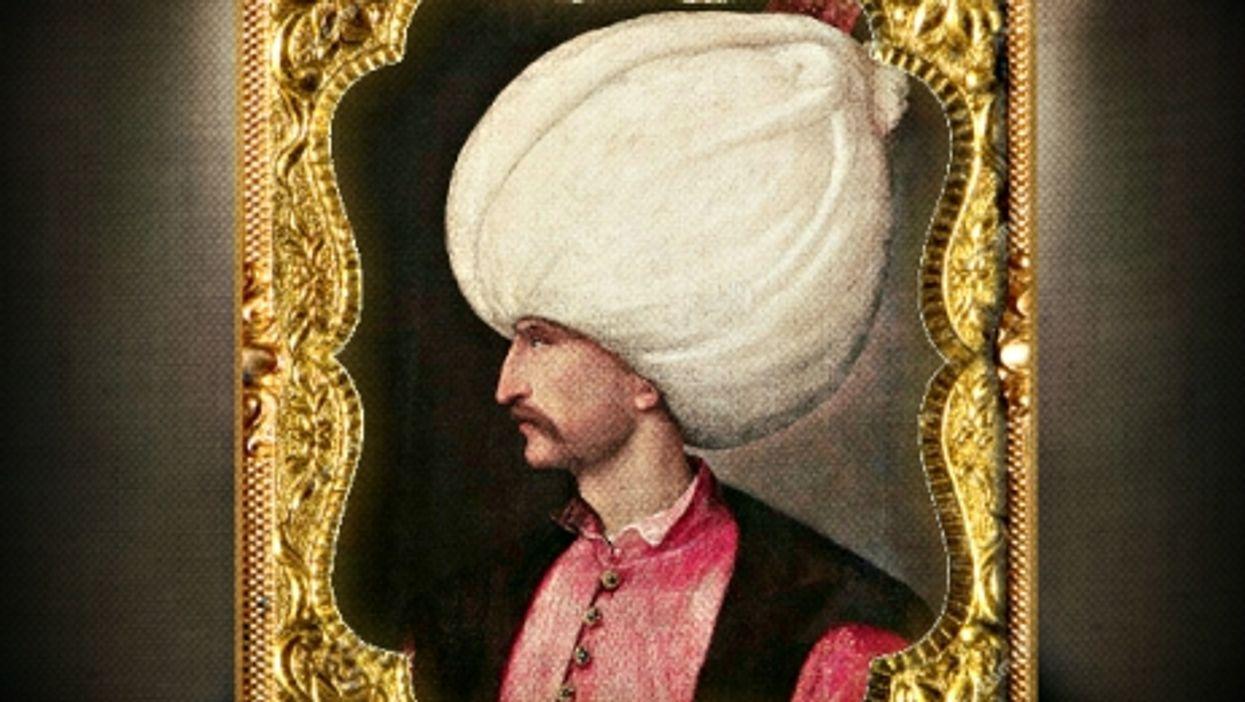 Titian portrait of Suleiman the Magnificent