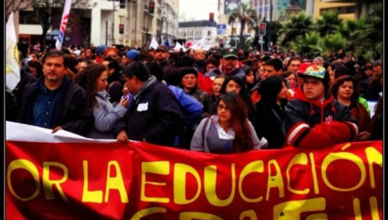 Today, nearly half of Chilean youth reach university