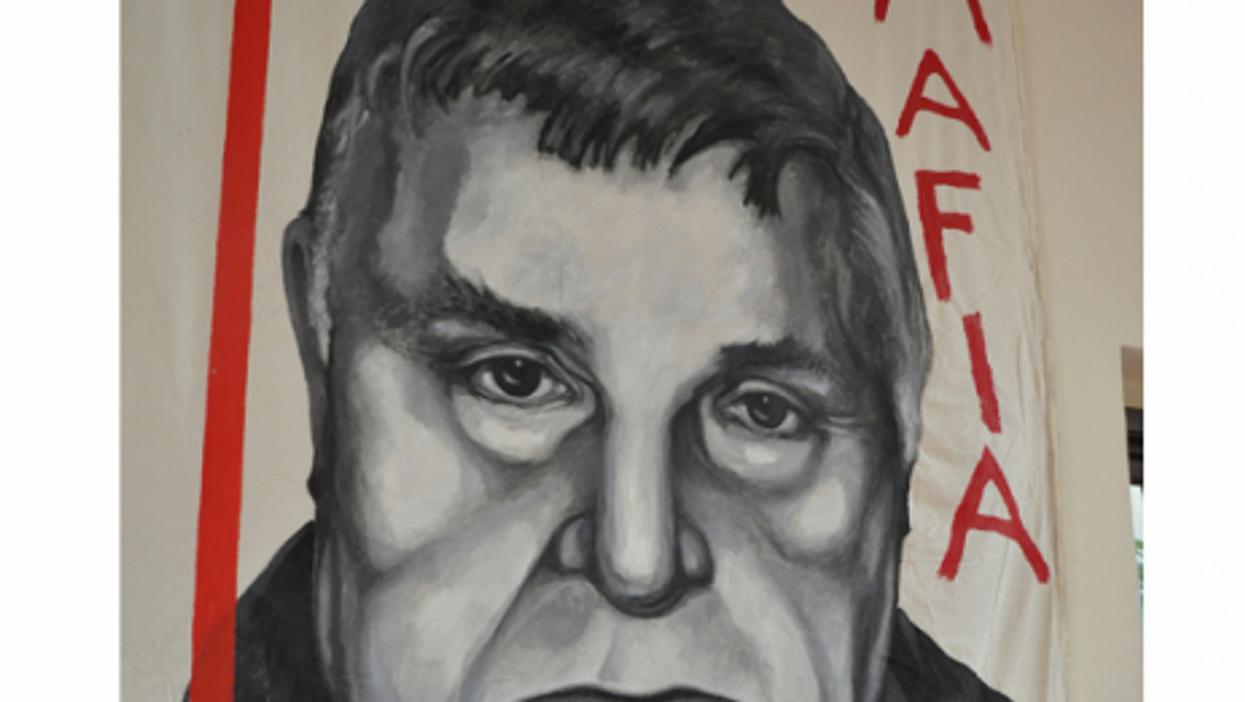 Top Sicilian Mafia boss Toto Riina was capture in 1993 after a decade-long manhunt (Sarah Murray)
