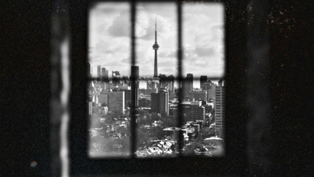 Toronto from afar
