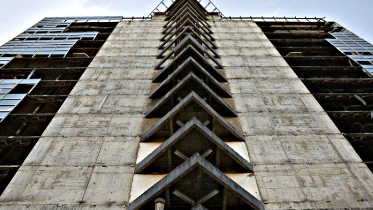 Torre de David in Caracas, Venezuela