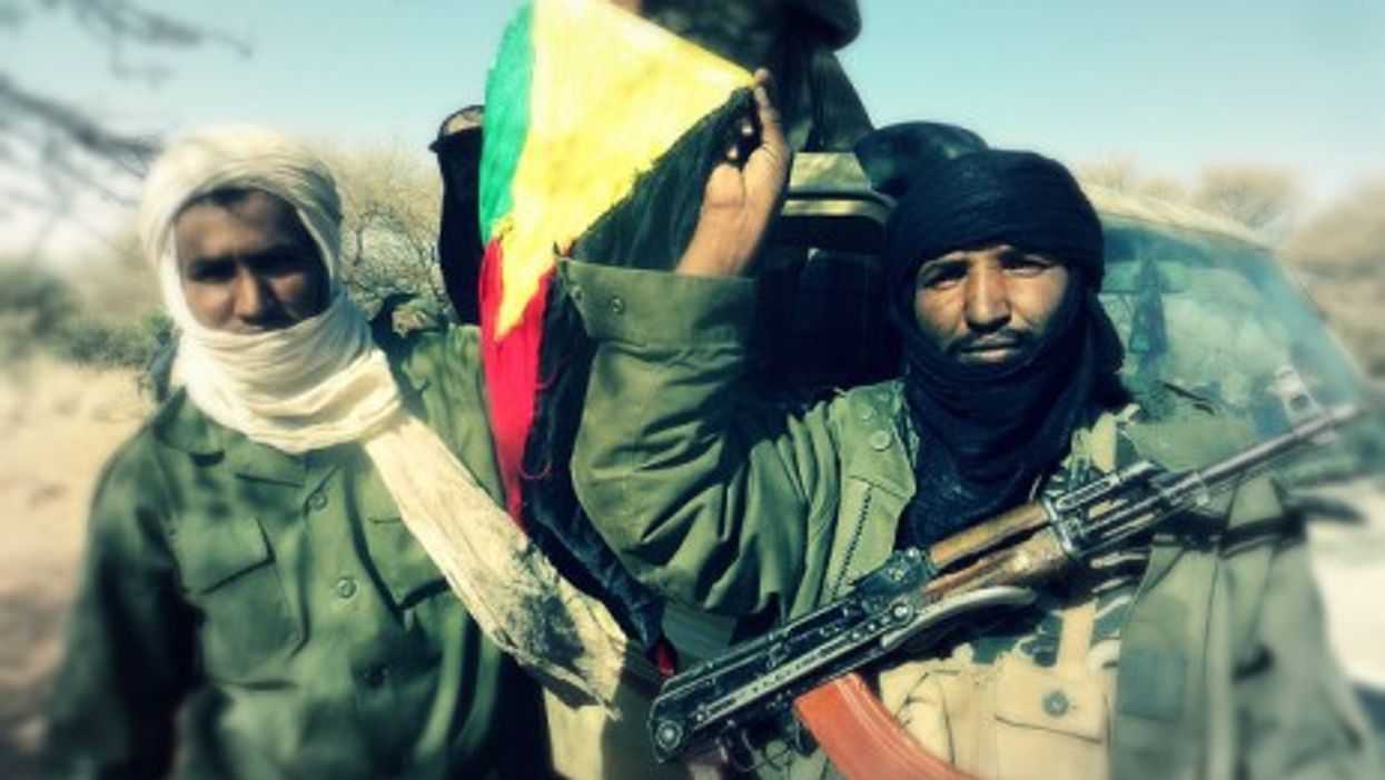 Touareg independence fighters