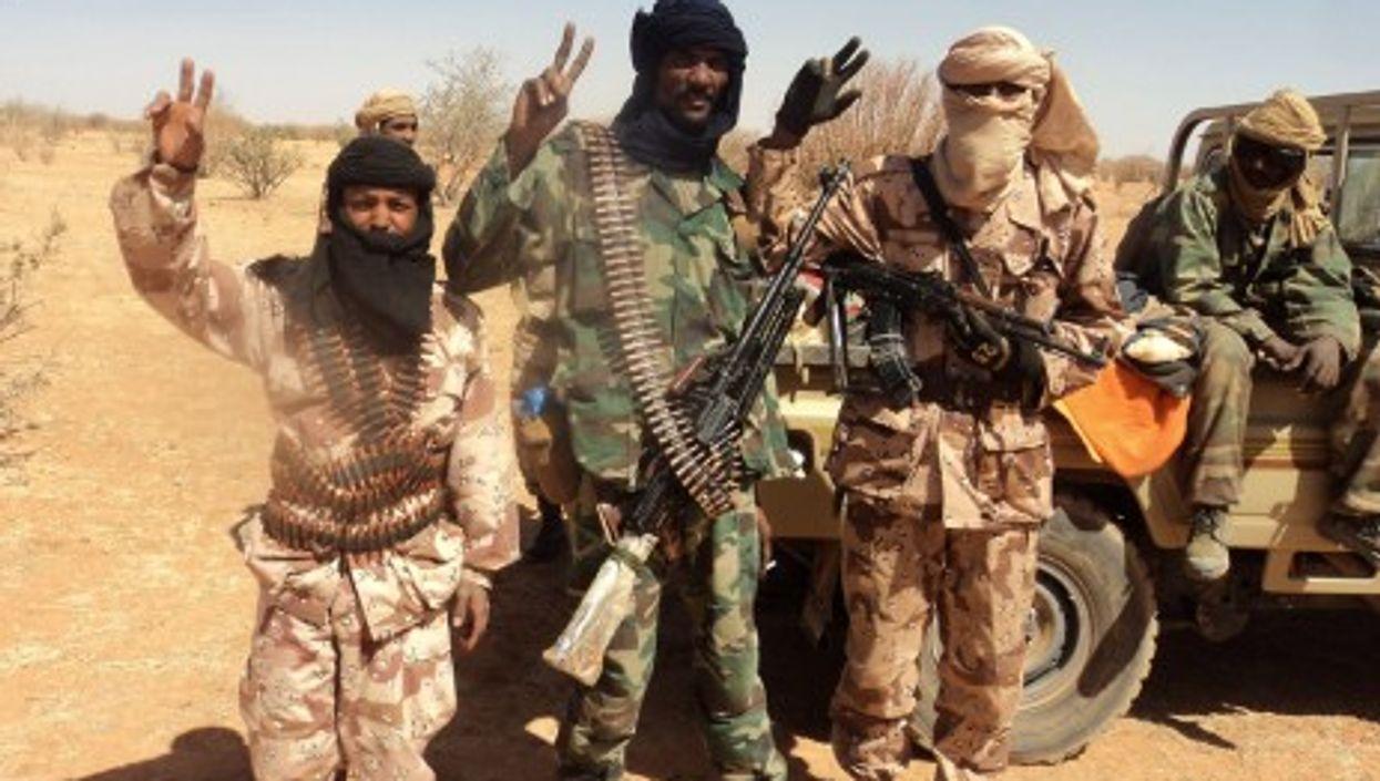 Touareg rebels in Mali (Magharebia)