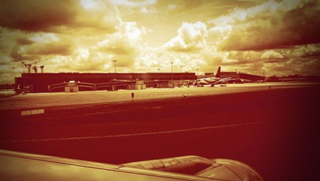 Toulouse airport was the point of departure