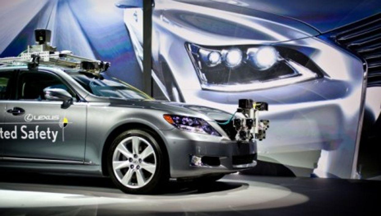 Toyota's self-driving Lexus