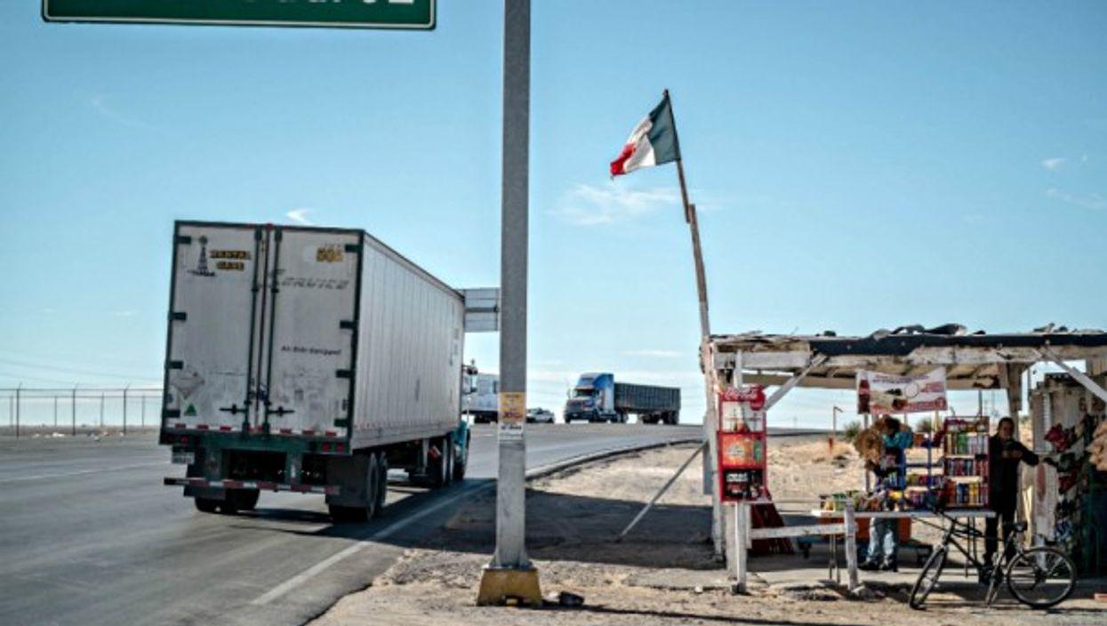 Trade big and small at the Mexico-U.S. border