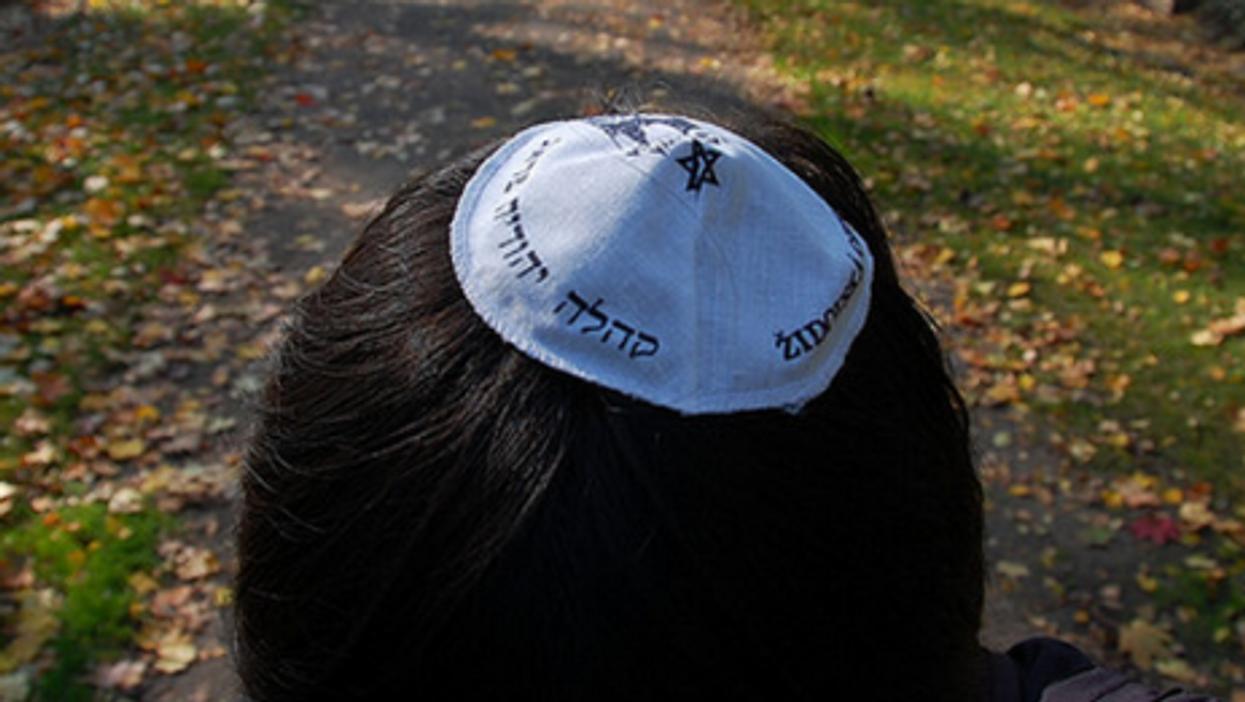 Traditional Jewish males wear a kippa at all times