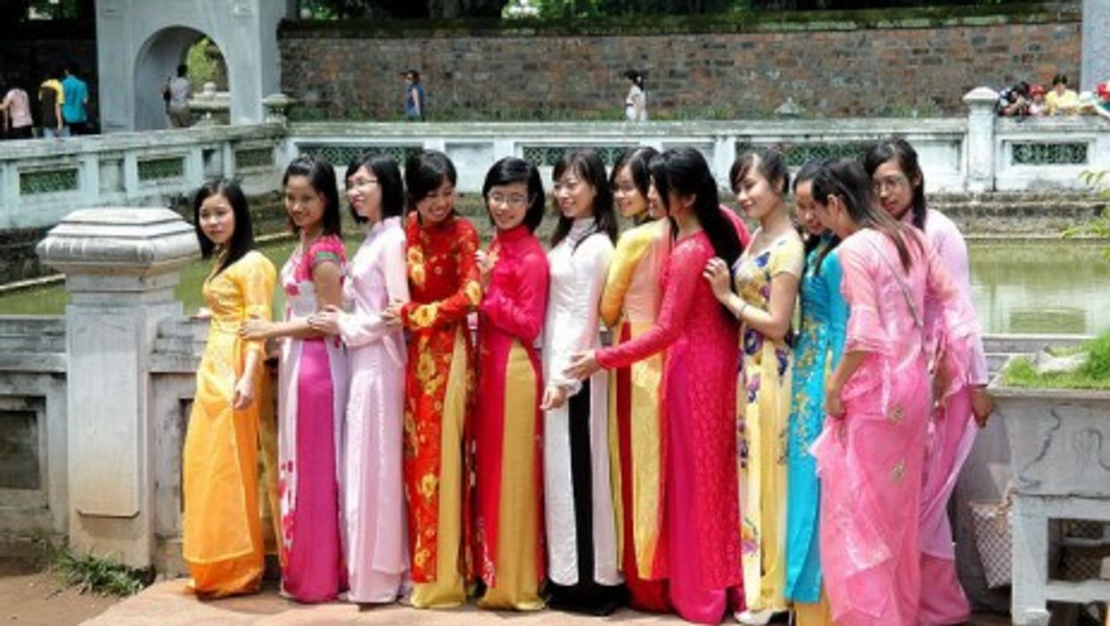 Traditional Vietnamese culture prefers women to cover up