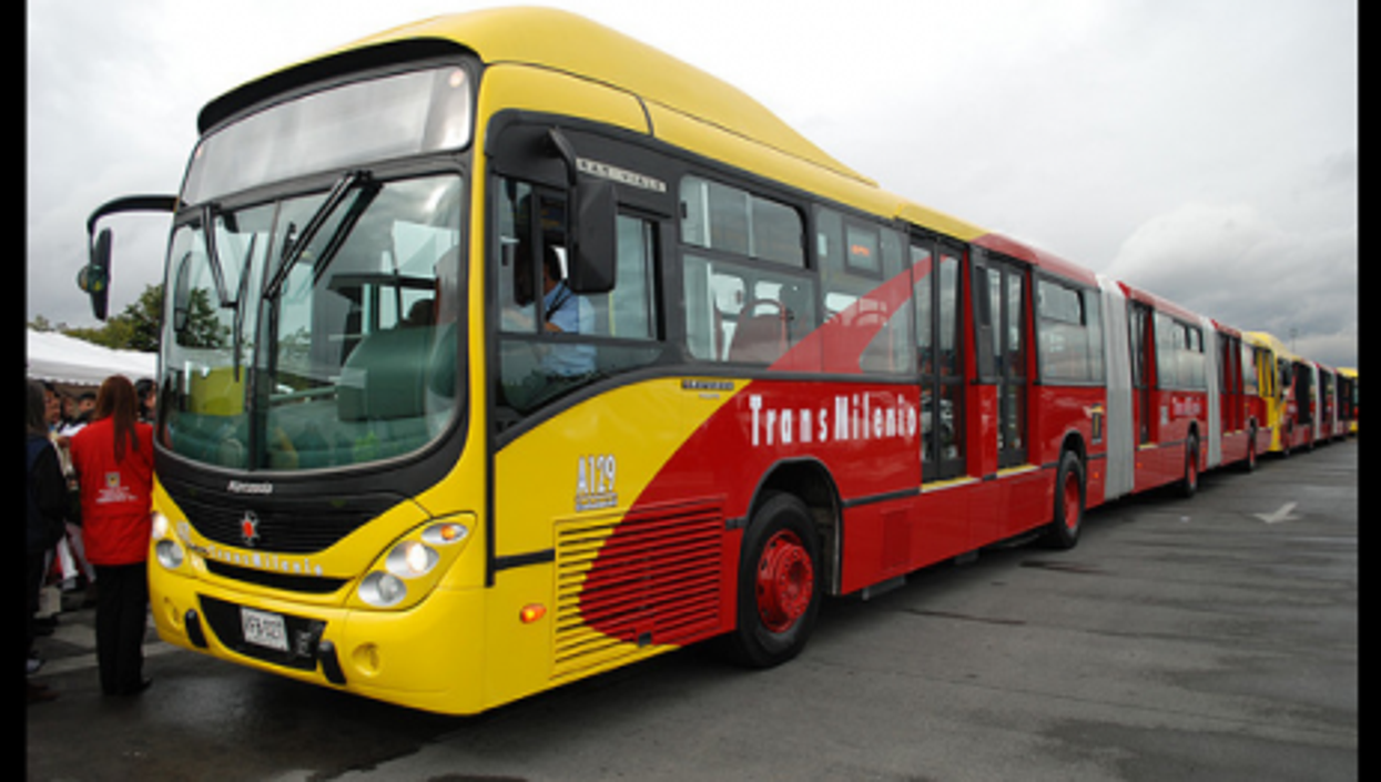 Transmilenio buses were hailed as state of the art