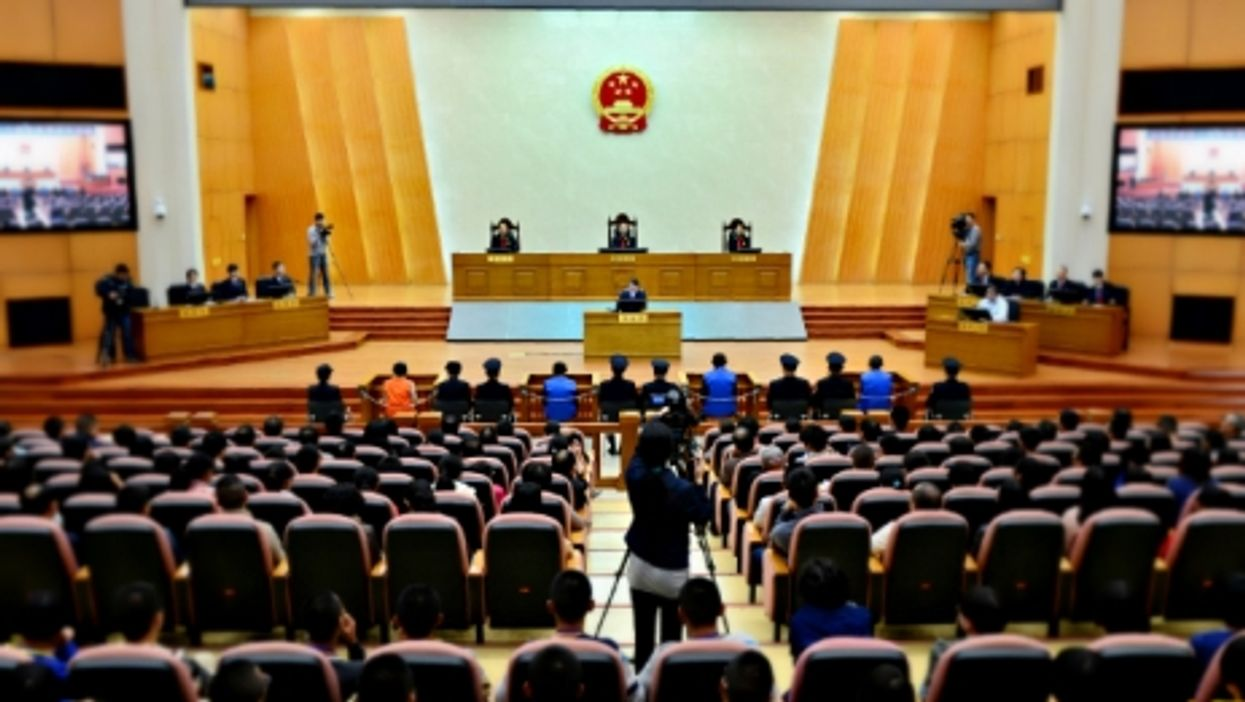 Trial at the Higher People's Court of Yunnan Province, China