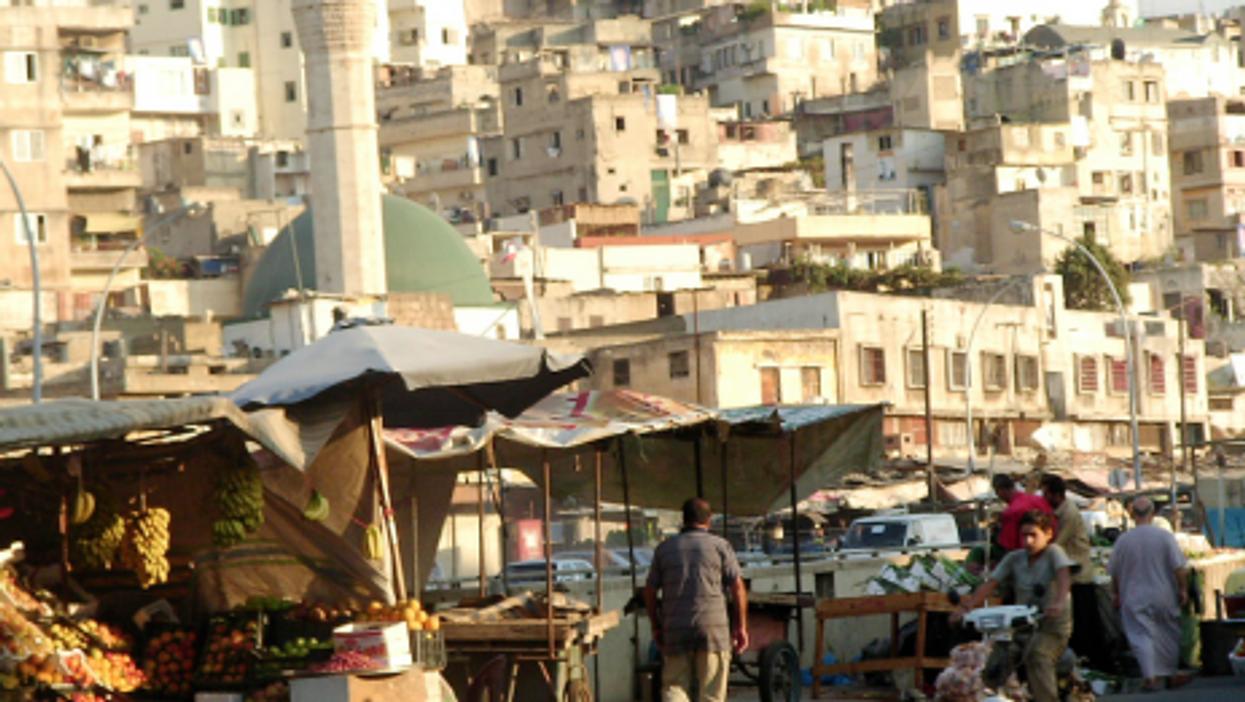 Tripoli, Lebanon (Laika slips the lead)