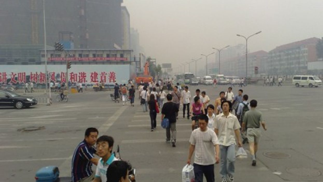 Trouble in the Beijing air