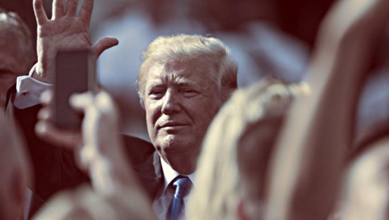 Trump at July 4th ceremonies