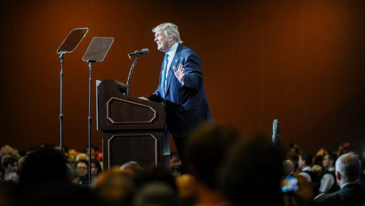 Trump in Phoenix on Wednesday