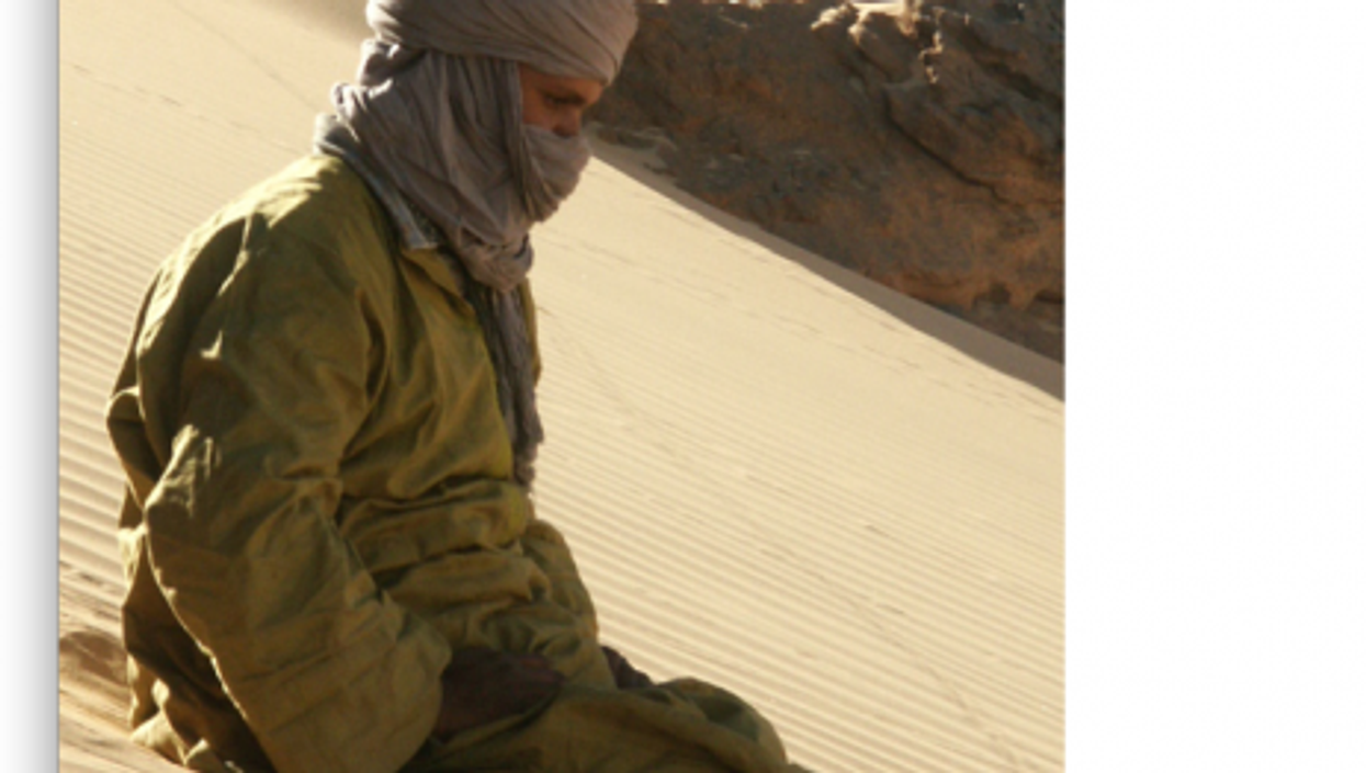 Tuaregs, like this man in Algeria, live in several different countries in North and West Africa (Garrondo)