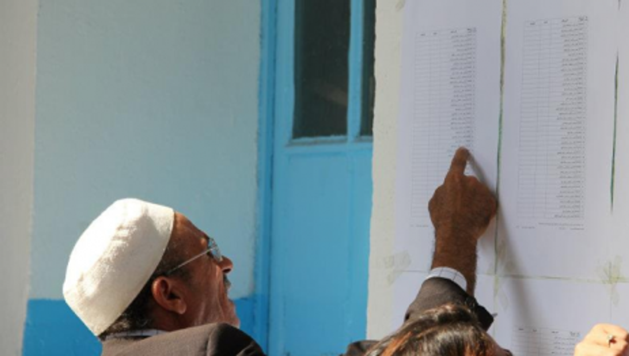 Tunisians voting on Oct. 23 (FreedomHouse)