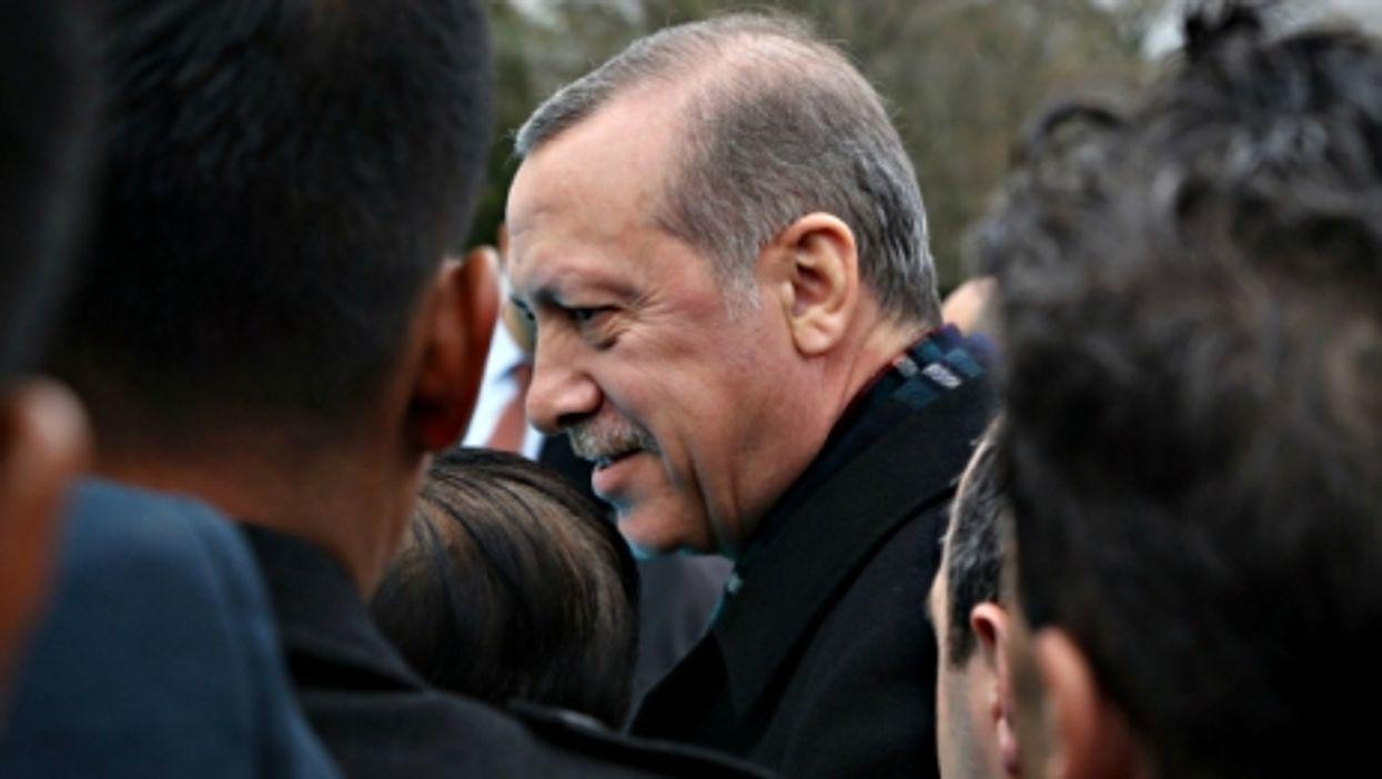 Turkish President Erdogan on April 2