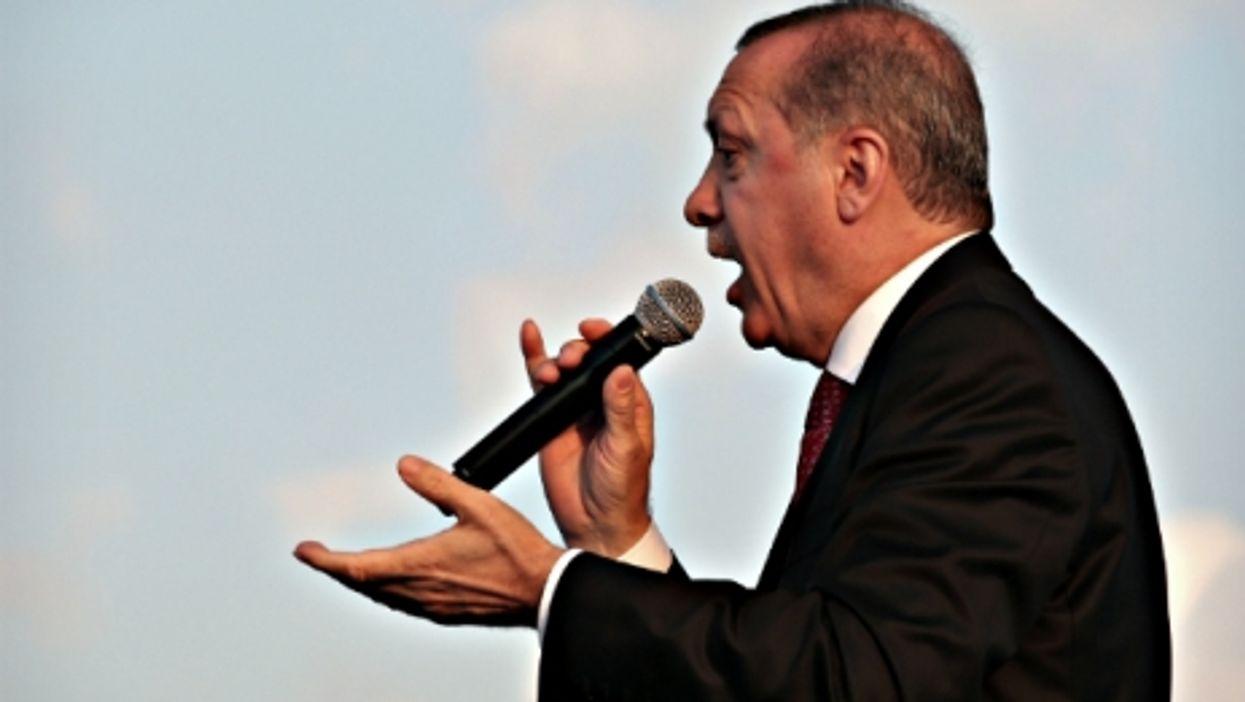 Turkish President Erdogan on June 30