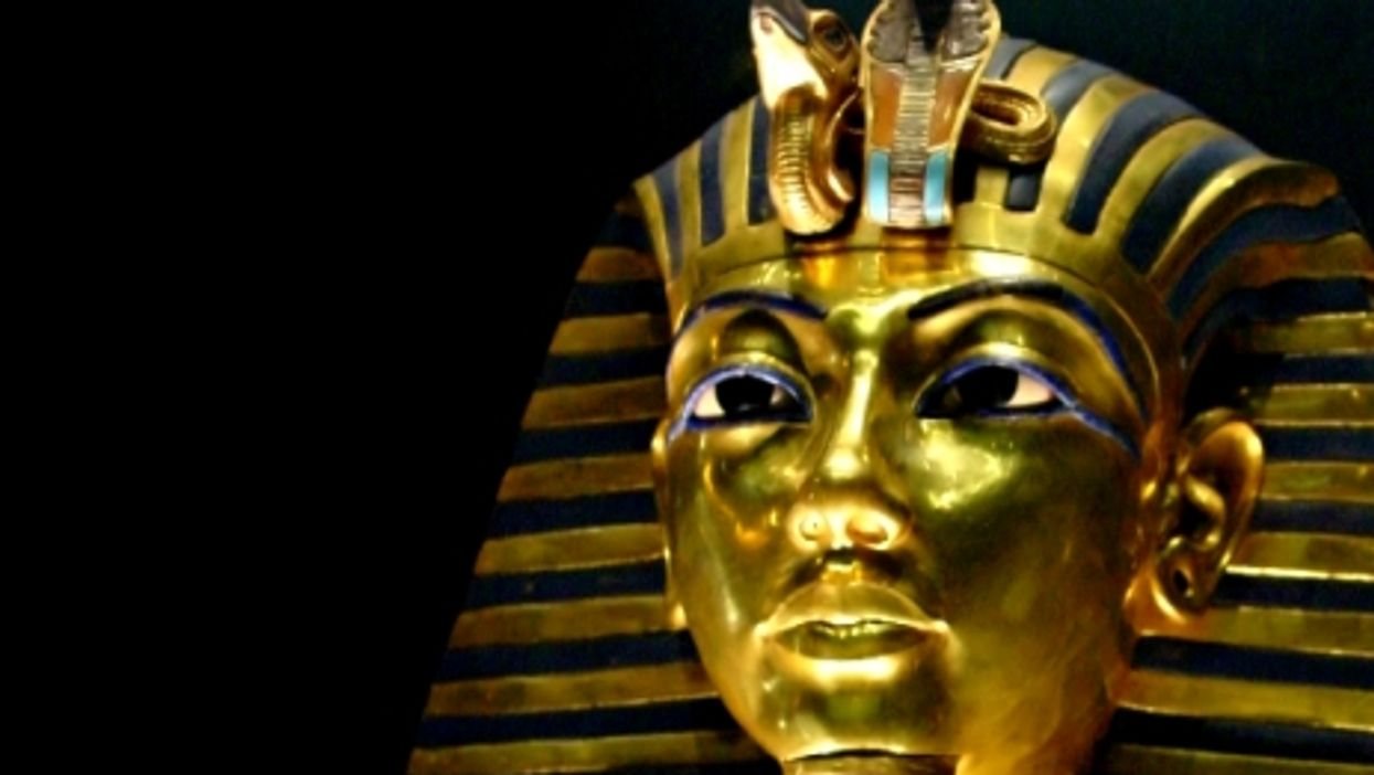 Tuthankamun's burial mask, on display in Cairo's Egyptian Museum