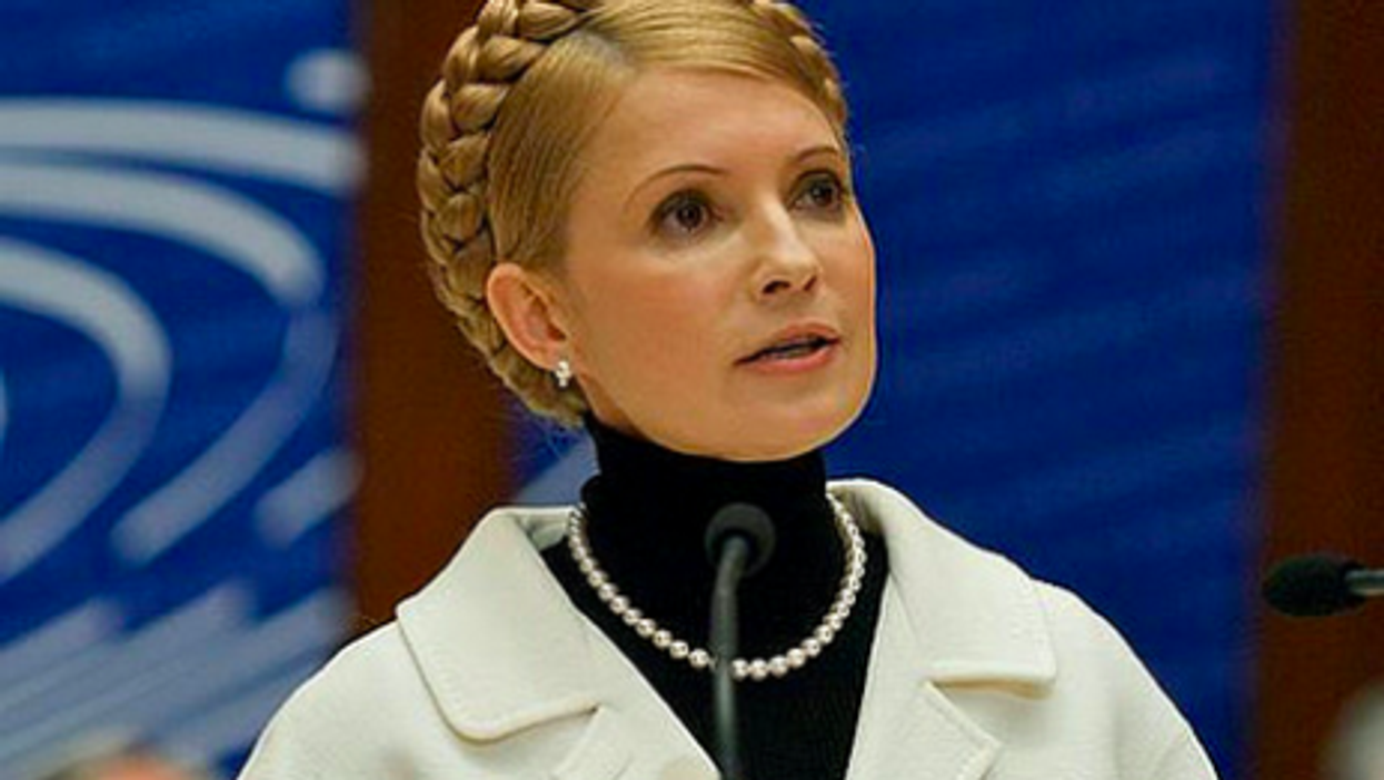 Tymoshenko in 2008 (Council of Europe)