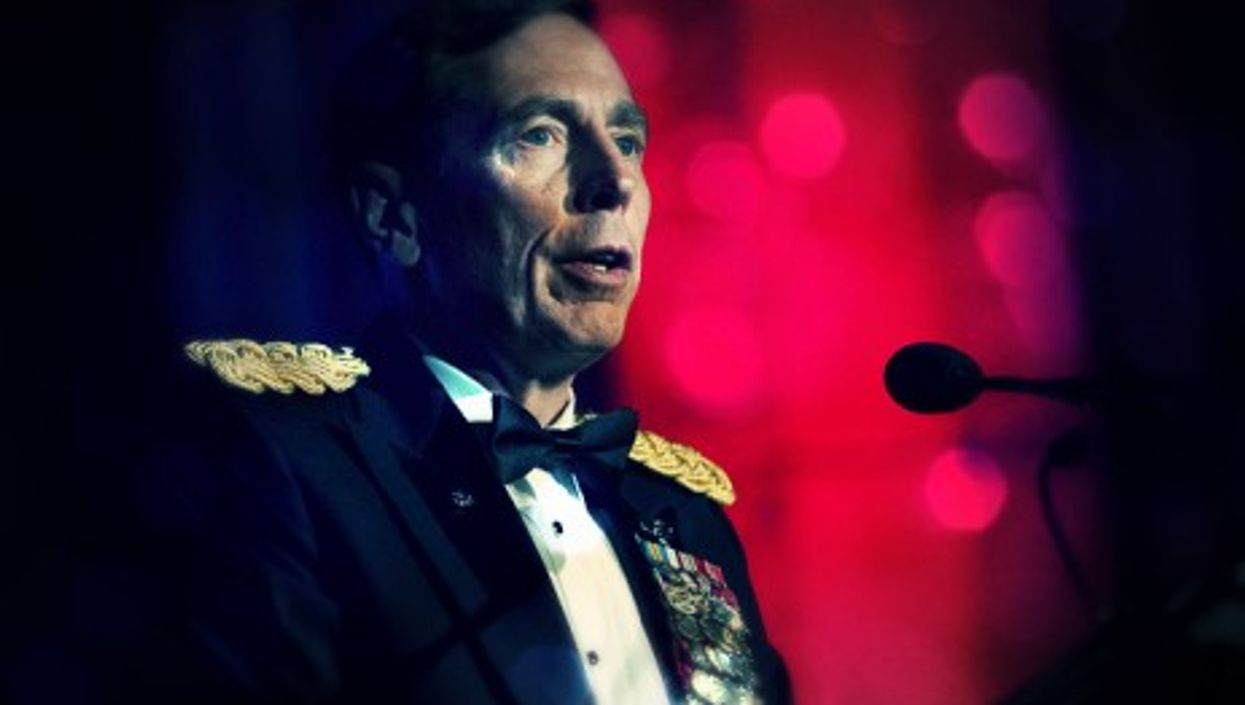 U.S. Army Gen. David Petraeus