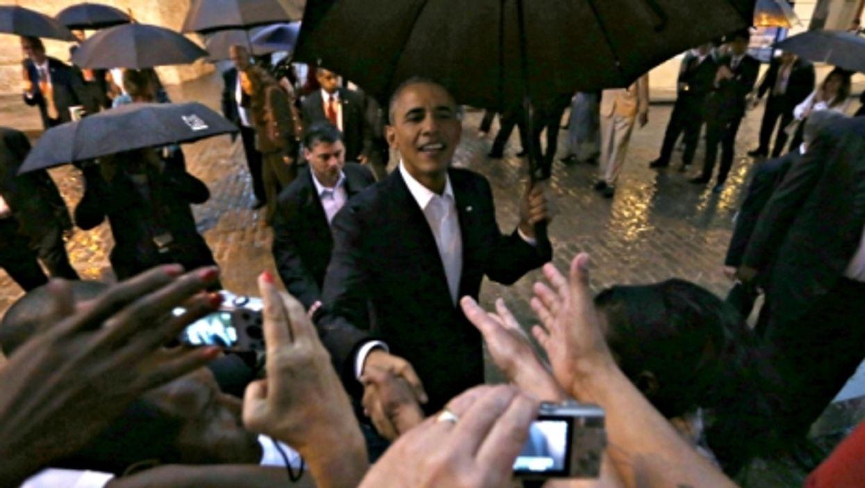 U.S. President Barack Obama in Havana on March 20