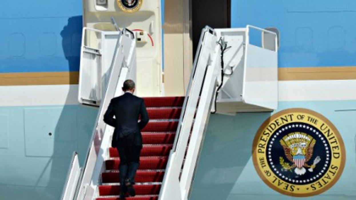 U.S. President Barack Obama on April 2