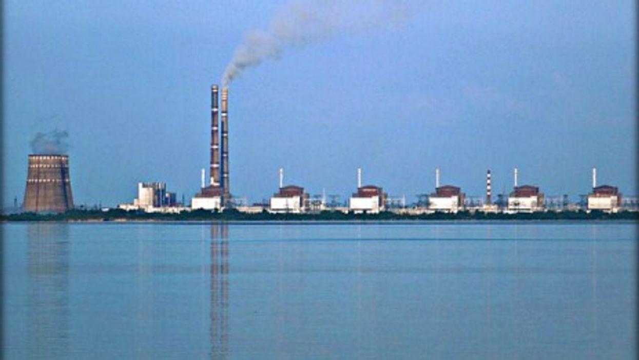 Ukraine's Zaporizhia Nuclear Power Station
