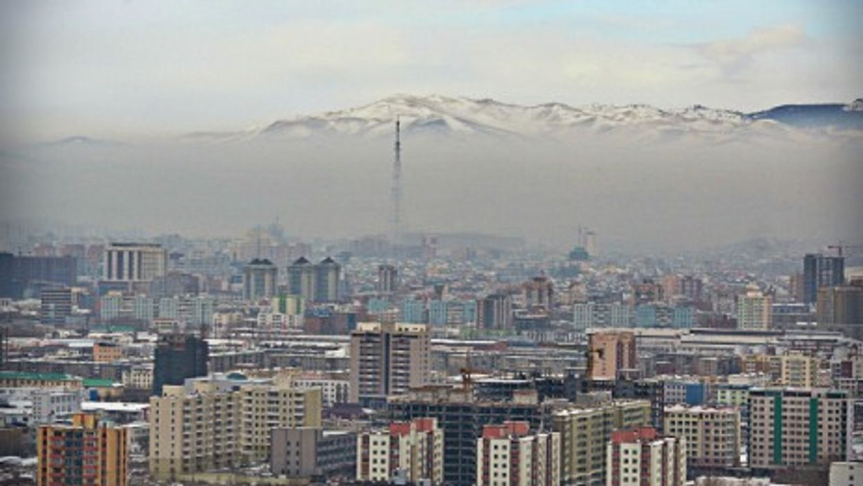 """Ulaanbaatar, """"the most polluted capital on the planet"""""""
