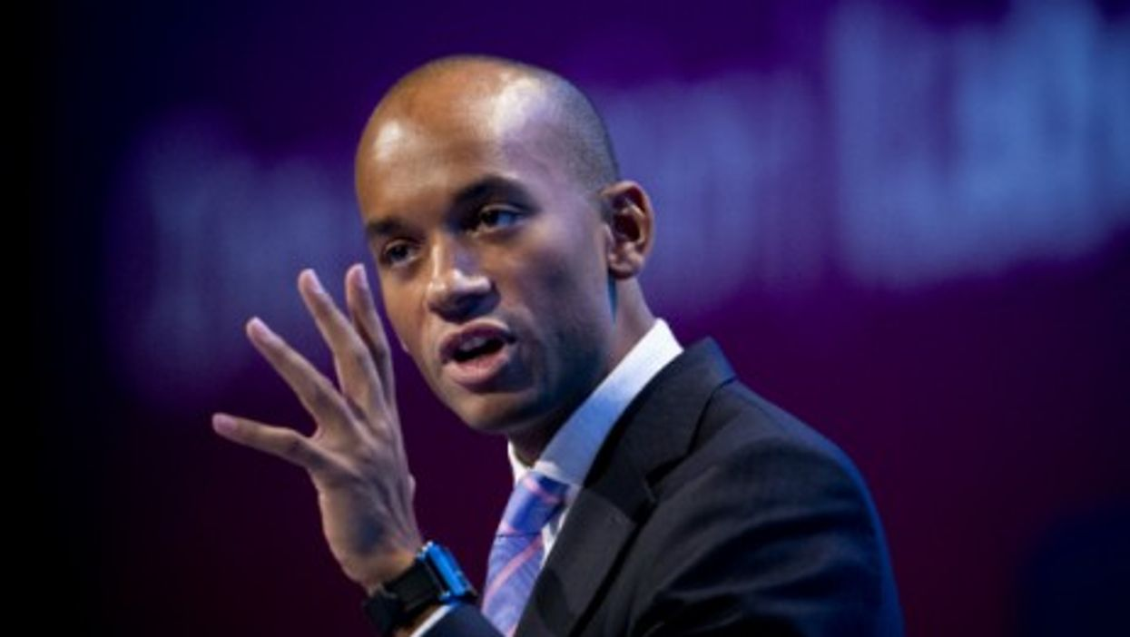 Umunna speaking at the Labour Party Annual Conference in Brighton