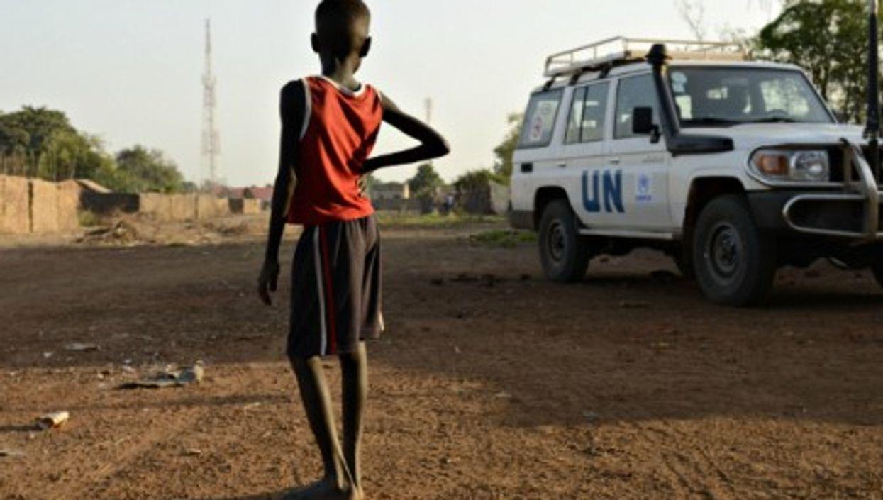 UN refugee camp in Doro, South Sudan.