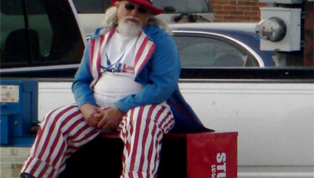 Uncle Sam on the fritz (Rich Anderson)