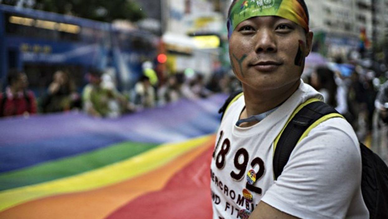 Unlike the mainland, in Hong Kong gay pride is openly displayed