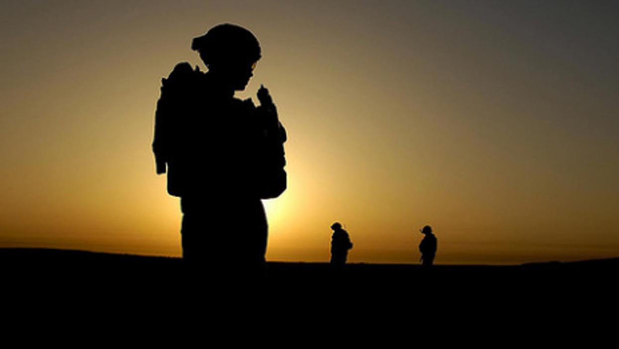 US and Iraqi soldiers Al Muradia, Iraq, March, 13, 2007 (U.S. Army)