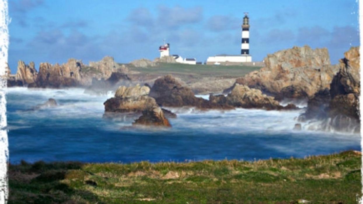 Ushant coastline