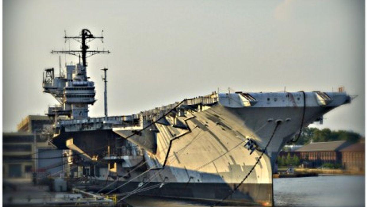 USS Forrestal CV-59, supercarrier no more