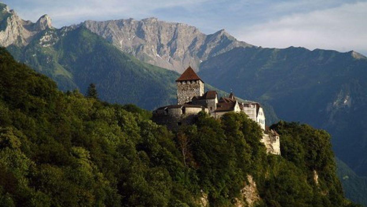 Vaduz Castle, home to the Prince of Liechtenstein (Michael Gredenberg)