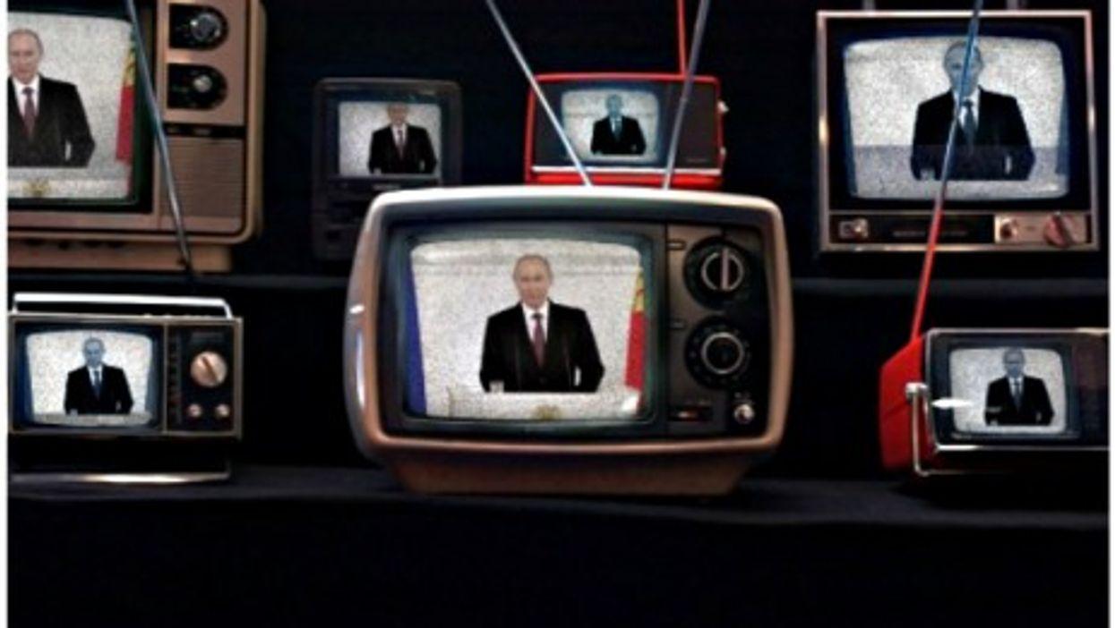 Valdimir Putin adresses parliament