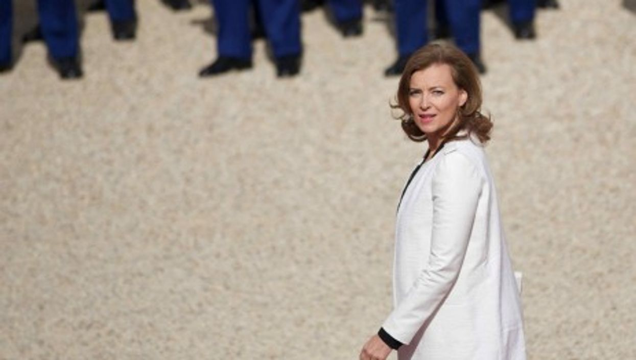 Valérie Trierweiler, First Lady of France (Cyclotron)