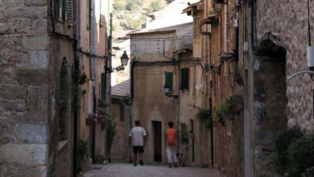 Valldemossa, Mallorca, where Chopin sojourned with his mistress, George Sand, in 1838
