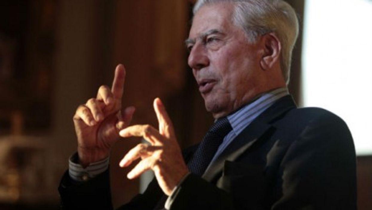 Vargas Llosa in 2011